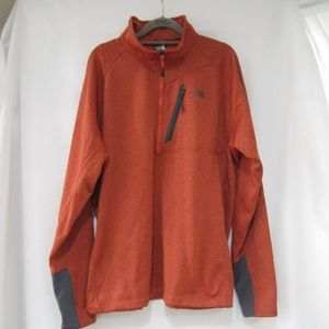 "TNF XL NWT Canyon Lands 1/2 Zip Jacket  50""  Fall"